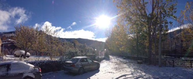 ¿Atrapado con el vehículo en la nieve?