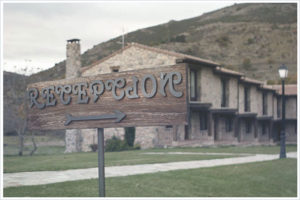 Fachada del hotel Rural con encanto en ávila Ribera del Corneja