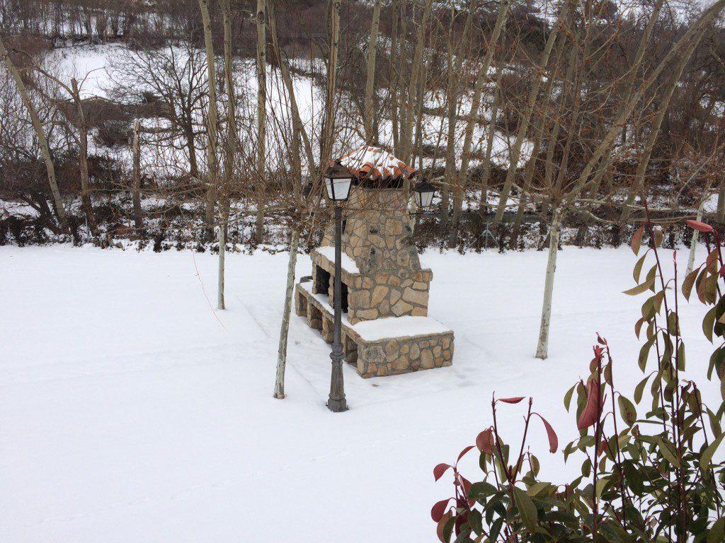 Hotel Rural Ribera del Corneja nevado