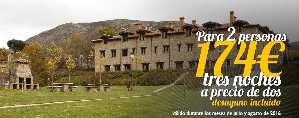 Oferta hotel rural Ávila. Para parejas