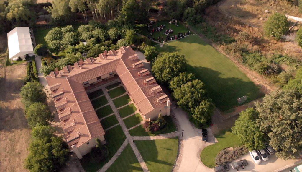 Fotografía aérea de Ribera del Corneja