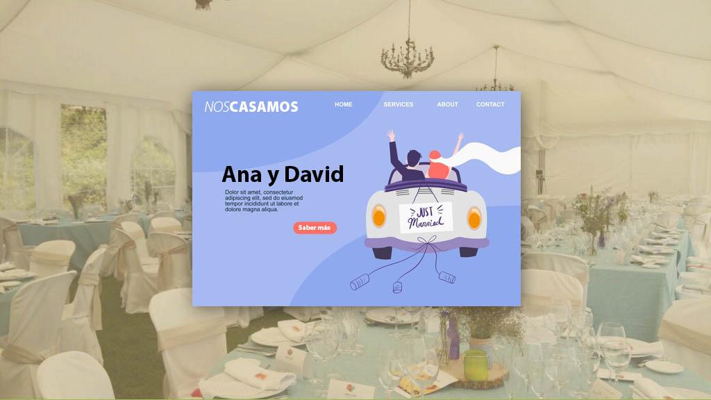 Ribera del Corneja presenta el Diseño personalizado de webs para bodas agencia de comunicación Ubiqual