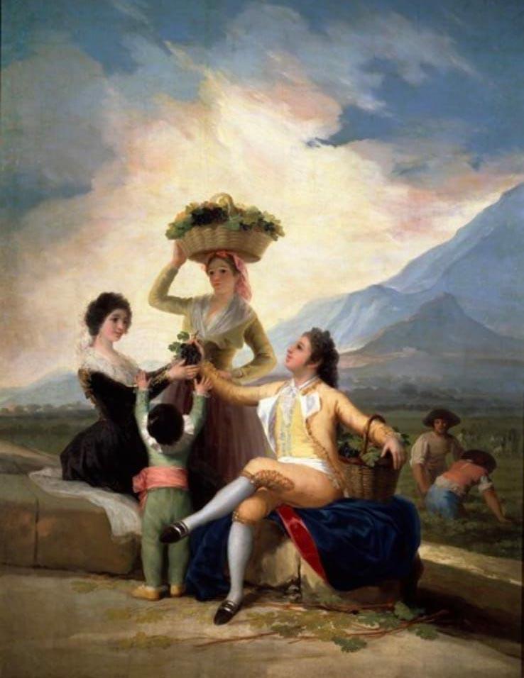 La vendimia de Goya en Piedrahíta