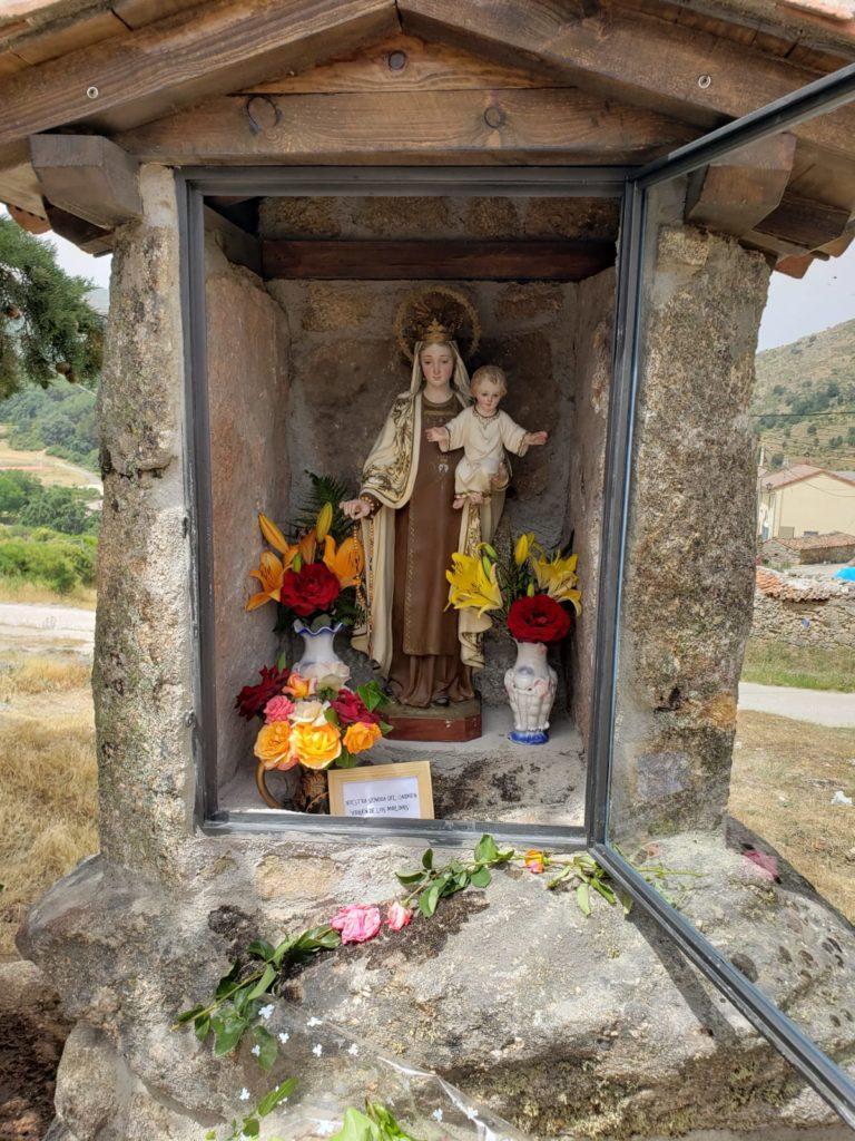 La Virgen de los Molinos del Valle patrona de los Molineros