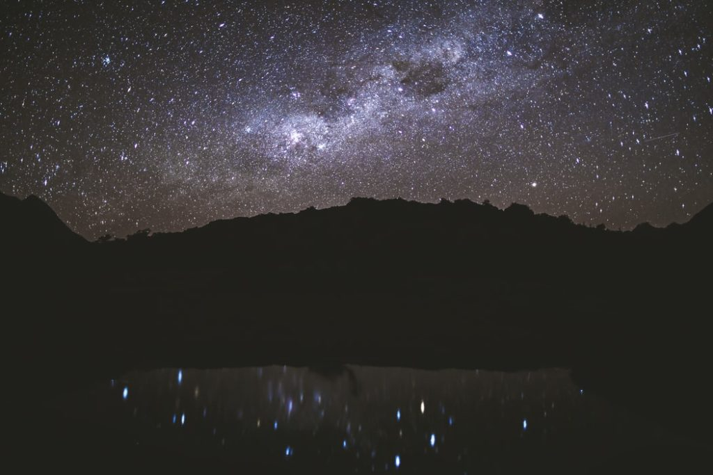 Cielo Sierra de Gredos para ver las estrellas