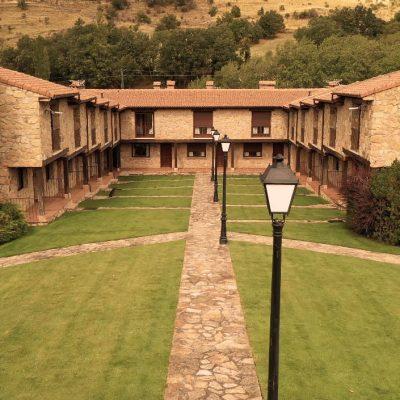 Hotel Rural Ribera del Corneja fachada