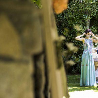Preciosa fotografía de la boda en la finca rural en Gredos Ribera del Corneja