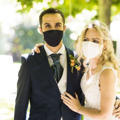 Guapísimos en la boda en Ribera del Corneja