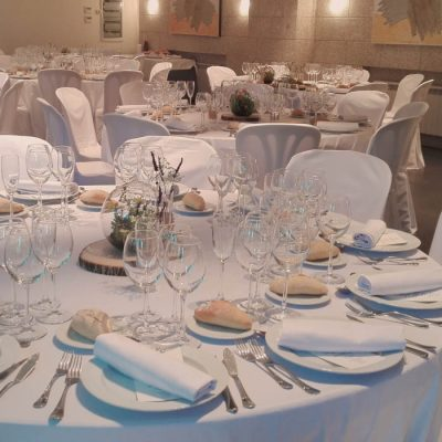 Mesa de boda en Ribera del Corneja
