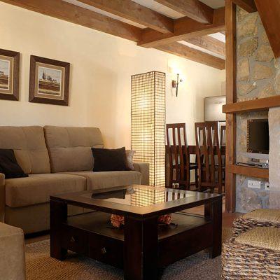 Salón de casa rural Ribera del Corneja