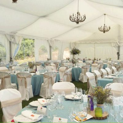 Carpa de bodas Hotel Rural Ribera del Corneja
