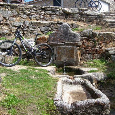 Garganta de los hornos en bicicleta