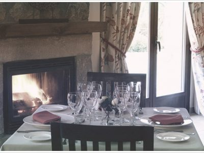 Restaurante del hotel con encanto en Gredos