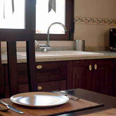Cocina de la casa rural Ribera del Corneja